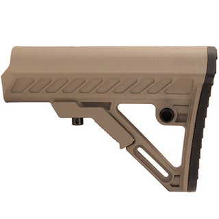 Leapers Inc. UTG Pro Model 4 Ops Ready S2 Mil Spec Stock Only, Flat Dark Earth
