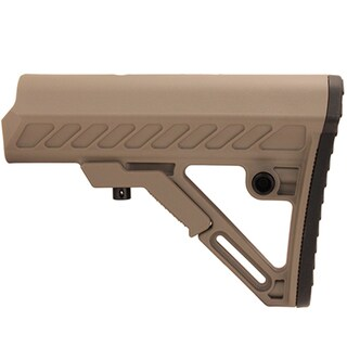 Leapers Inc. UTG Pro Model 4 Ops Ready S2 Commercial Spec Stock Only, Flat Dark Earth