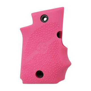 Hogue Sig P938 Rubber Grip Ambidextrous, w/Finger Grooves Pink