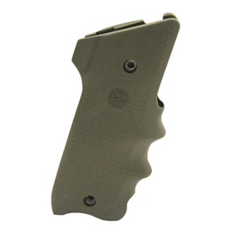 Hogue Ruger Mark II MK III Rubber Grip w/Finger Grooves OD Green