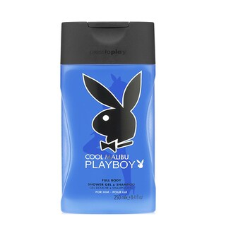 Playboy Cool Malibu 8.4-ounce Full Body Shower Gel & Shampoo