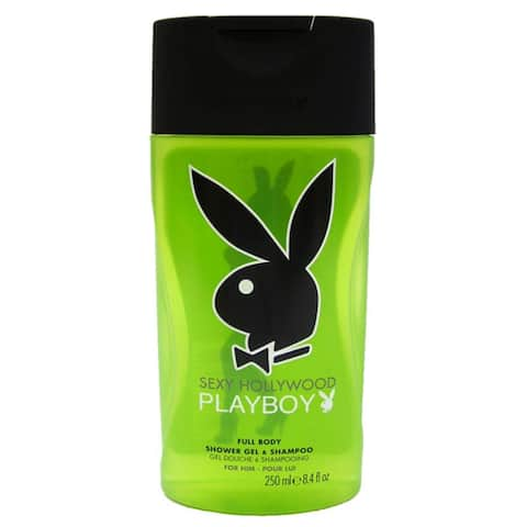Playboy Sexy Hollywood 8.4-ounce Full Body Shower Gel & Shampoo