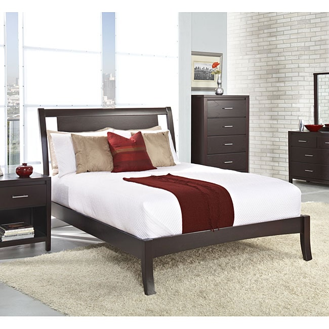 Floating Panel California King-size Sleigh Bed
