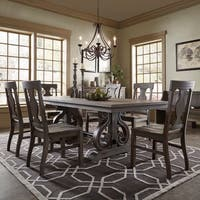 Rowyn Wood Extendable Dining Table Set by iNSPIRE Q Artisan