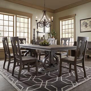 rowyn wood extending dining table set by inspire q artisan - Wooden Dining Table With Chairs