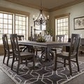 Rowyn Wood Extending Dining Table Set by SIGNAL HILLS
