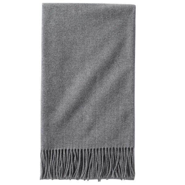Pendleton 5th Avenue Charcoal Throw