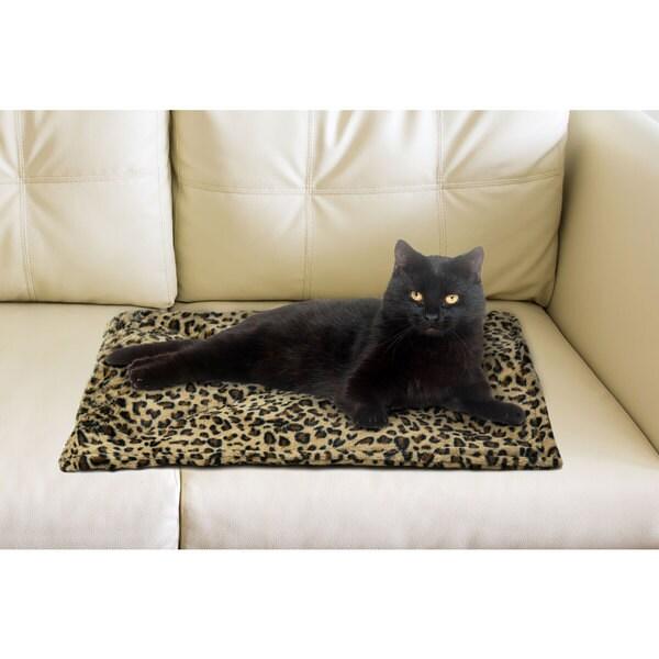 FurHaven ThermaNap Faux Fur Self-warming Pet Mat