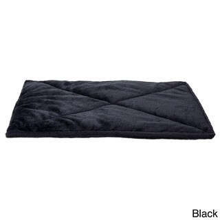 FurHaven ThermaNAP Faux Fur Self-Warming Pet Mat (Option: Black)