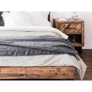 Aurelle Home European Soft Linen Throw Blanket (5 options available)
