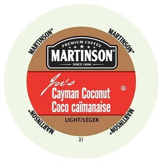 Martinson Coffee Cayman Coconut, RealCup portion pack for Keurig K-Cup Brewers