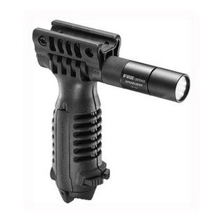 Mako Group Vertical Foregrip Black, w/Bidpod and Light