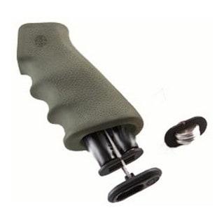 Hogue AR-15 Rubber Grip w/Storage Kit Olive Drabe Green