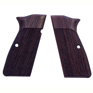 Hogue Browning Hi Power Grips Checkered Rosewood