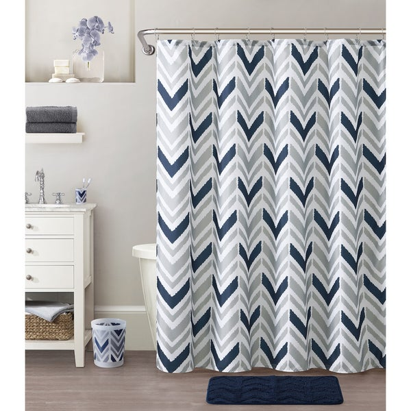 VCNY Home Nova 18-piece Shower Curtain and Bath Set