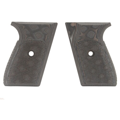 Hogue Sig P230/P232 Grips Checkered G-10 G-Mascus Black/Gray