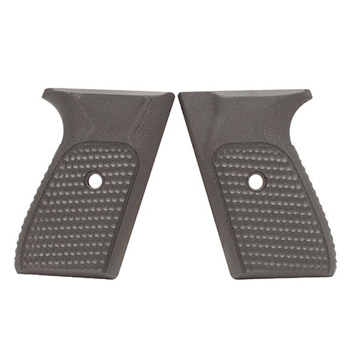 Hogue Sig P230/P232 Grips Pirahna G-10 Solid Black