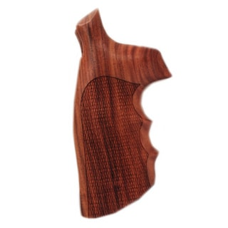 Hogue S&W N Frame Square Butt Grips Checkered Pau Ferro