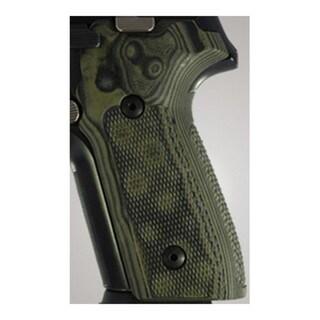 Hogue Sig P228/P229 Grips Checkered G-10 G-Mascus Green