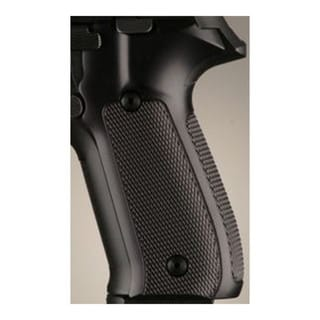 Hogue Sig P228/P229 Grips Checkered Aluminum Brushed Gloss Black Anodized