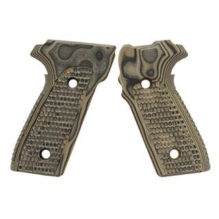 Hogue Sig P228/P229 Grips Pirahna G-10 G-Mascus Green