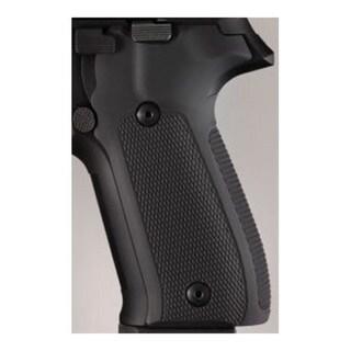 Hogue Sig P226 Grips Checkered Aluminum Matte Black Anodized