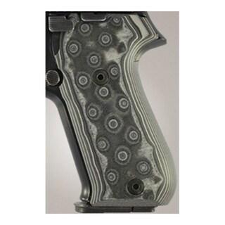 Hogue Sig P220 American Grips G-10 G-Mascus Black/Gray