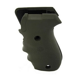 Hogue Sig P220 American Grips Rubber w/Finger Grooves, Olive Drab Green