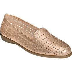 Women's Aerosoles You Betcha Slip-On Pink Metallic Leather