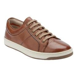 Men's Dockers Norwalk Oxford Sneaker Cognac Leather