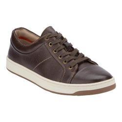 Men's Dockers Norwalk Oxford Sneaker Dark Brown Leather