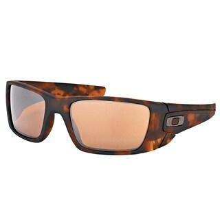 Oakley OO 9096 9096H5 Fuel Cell Matte Brown Tortoise Plastic Sport Sunglasses with Tungsten Iridium Lens