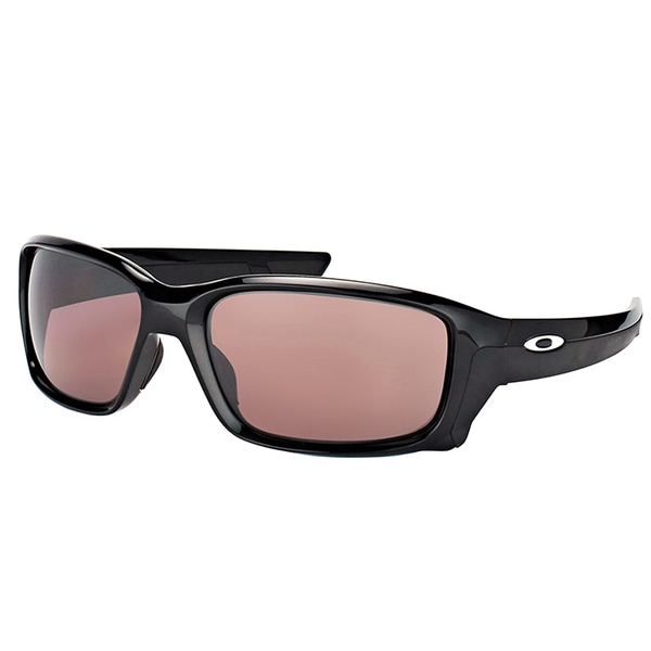 ab02d78290 Oakley OO 9331 933107 StraightLink Polished Black Plastic Sport Sunglasses  with Prizm Daily Polarized Lens