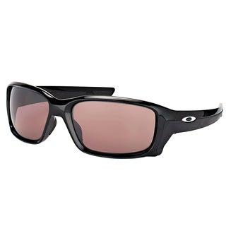 Oakley OO 9331 933107 StraightLink Polished Black Plastic Sport Sunglasses with Prizm Daily Polarized Lens