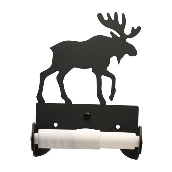 Iron Moose Toilet Tissue Holder