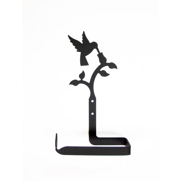 Iron Hummingbird Toilet Tissue Holder