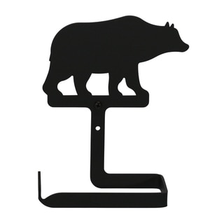 Iron Bear Toilet Tissue Holder