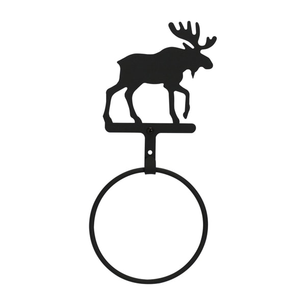Iron Moose Towel Ring