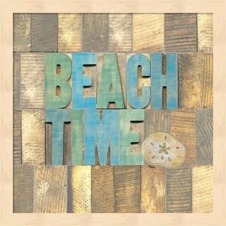 Tara Reed 'Beach Time II' Framed Art