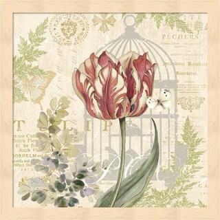 Pamela Gladding 'Floral Nature Trail II' Framed Art