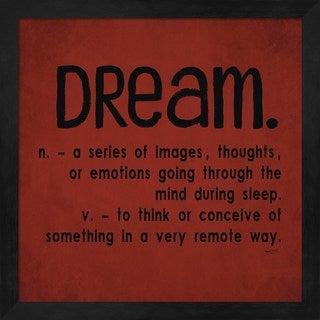 Tara Reed 'Definitions-Dream II' Framed Art