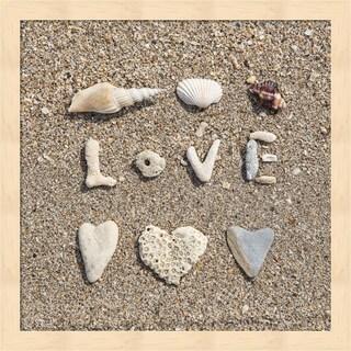 Andrea Haase 'Beach Love' Framed Art