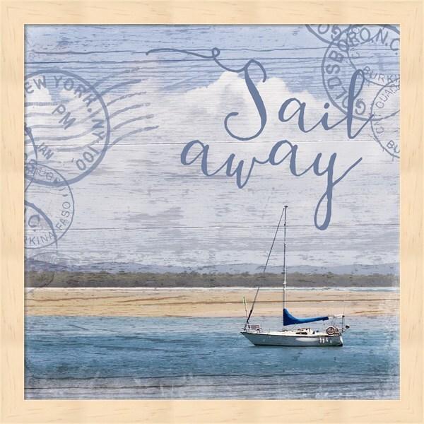 Andrea Haase 'Sail Away' Framed Art