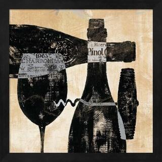 Daphne Brissonnet 'Wine Selection I' Framed Art