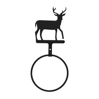 Iron Deer Towel Ring
