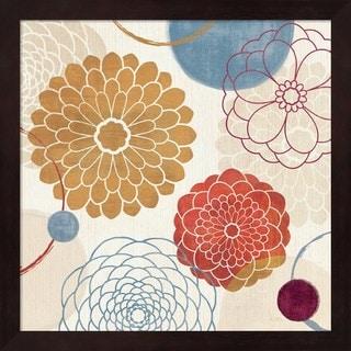 Veronique Charron 'Abstract Bouquet II' Framed Art