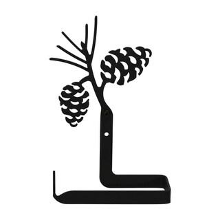 Wrought Iron Pine Cone Toilet Tissue Holder
