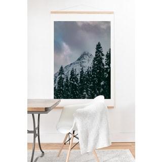 Leah Flores 'North Cascade Winter' Art Print and Hanger