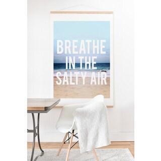 Leah Flores 'Breathe' Hanging Art Print