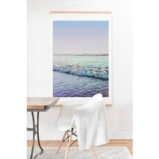 Leah Flores 'Ocean Dreamer' Art Print and Hanger